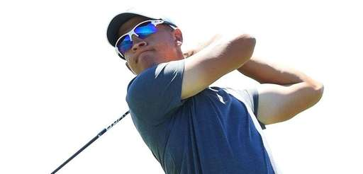Amateur Cameron Champ of the United States plays