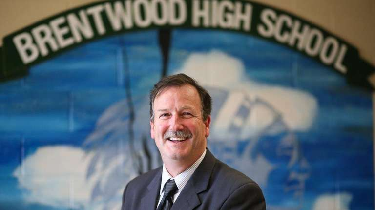 Richard Loeschner, principal of Brentwood High School's Ross