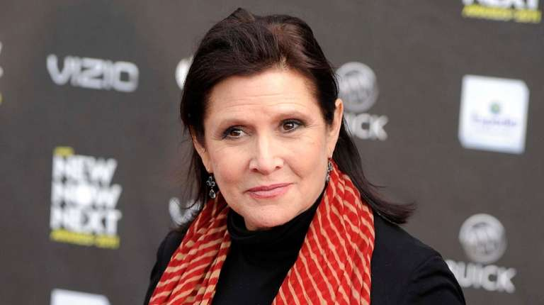 Carrie Fisher at the 2011 NewNowNext Awards