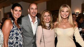 Trisha Burke, Matt Lauer, Lisa Schifter Greenberg and