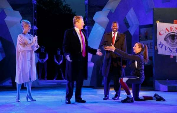 A photo from The Public Theater's Julius Caesar,