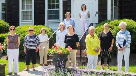 Members of the Ladies' Village Improvement Society, from
