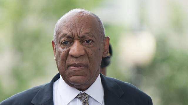 Bill Cosby leaves the Montgomery County Courthouse in