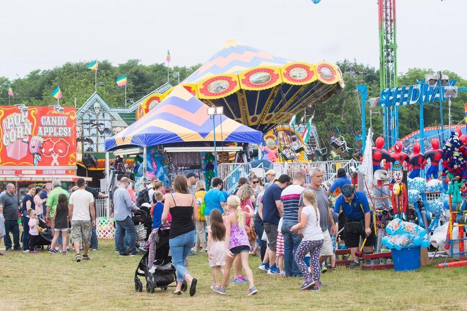 The four-day Strawberry Festival in Mattituck offers dozens