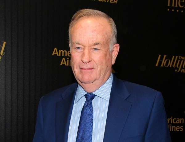 Bill O'Reilly at The Hollywood Reporter's