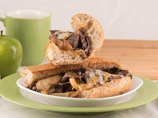 The pot roast sandwich at Good Eats Bistro,