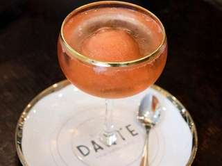 Dante, a bar in Greenwich Village, is sending