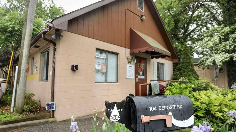 The Grateful Paw Cat Shelter in East Northport