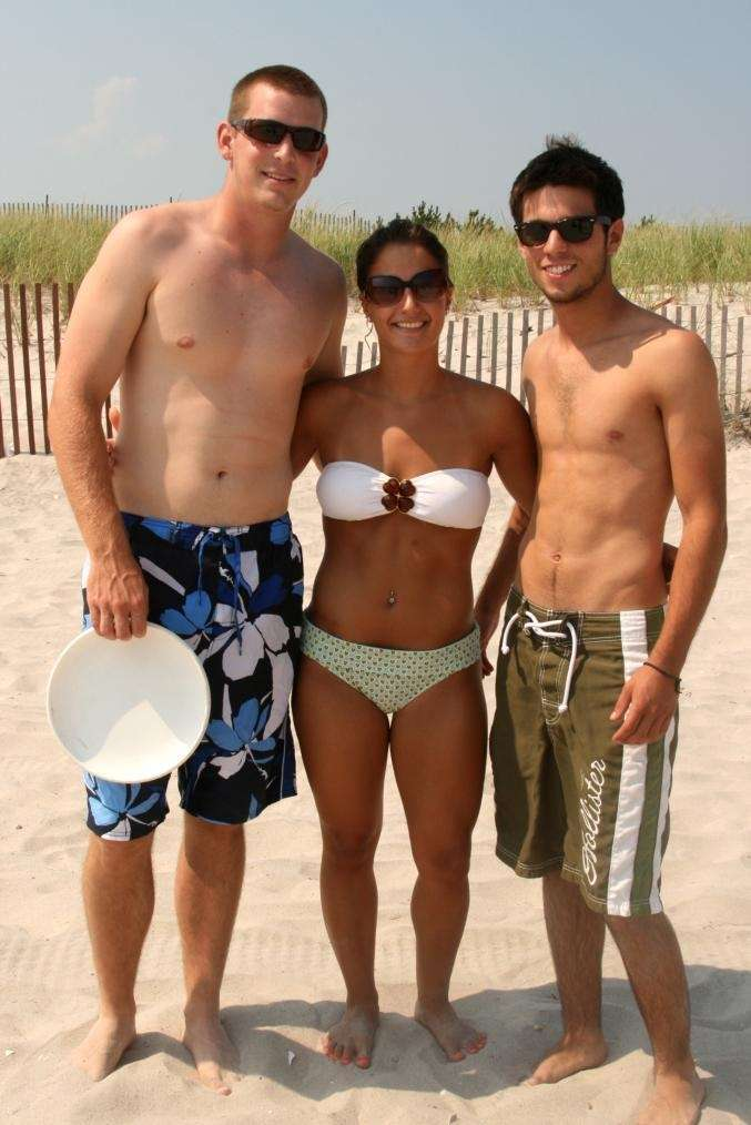 Brian Blombery, Chelsey Genoino and Zach Murphy at