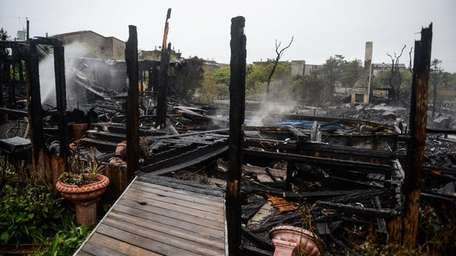 The cause of a Fire Island Pines fire