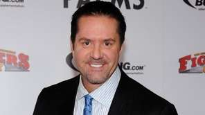 TV commentator Mike Goldberg arrives at the Fighters