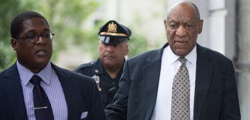 Bill Cosby at court in Norristown, Pa., on