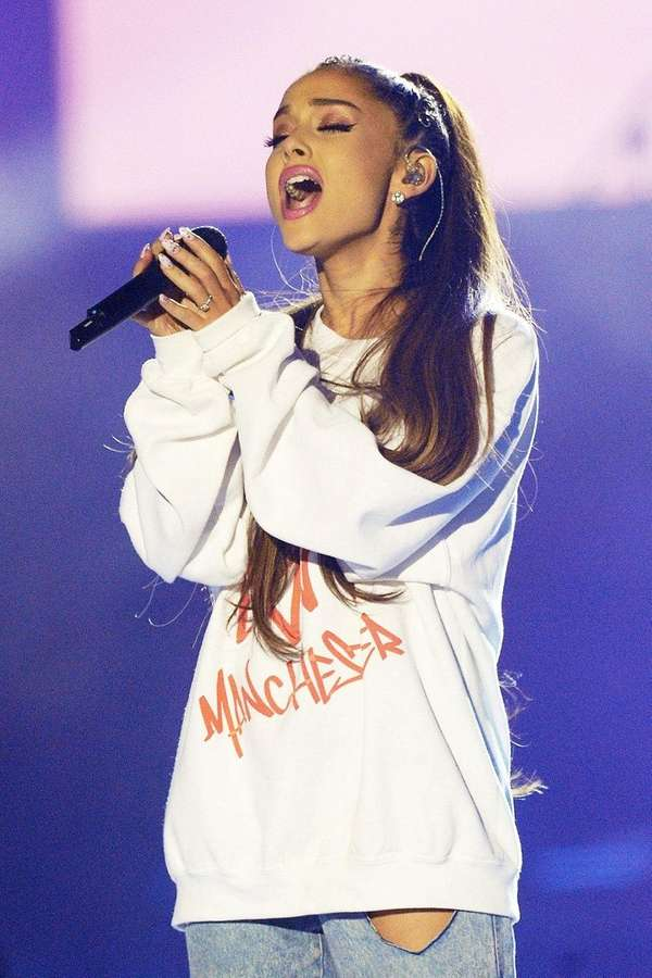 Ariana Grande told her fans she was grateful