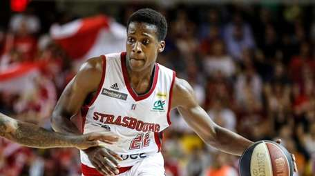 Frank Ntilikina, one of French basketball's promising players,