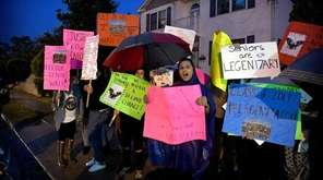 Parents urged the Copiague school board on Monday,