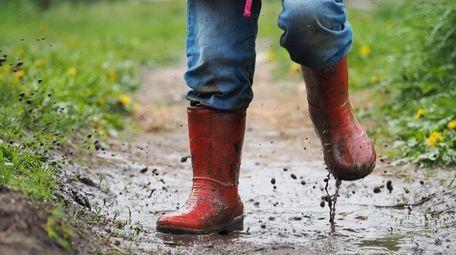 Get messy and muddy on International Mud Day