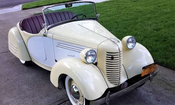 1938 American Bantam Deluxe Roadster owned by Wade