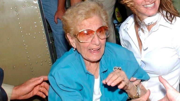 Sophie Sarro, 103, was an original Rosie the