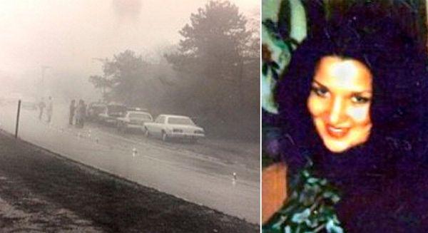 The remains of Tina Foglia, 19, right, were