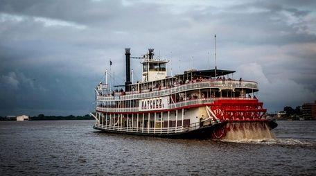 The historic Steamboat Natchez.