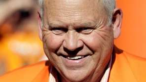 Former Tennessee football coach Phillip Fulmer, recently appointed
