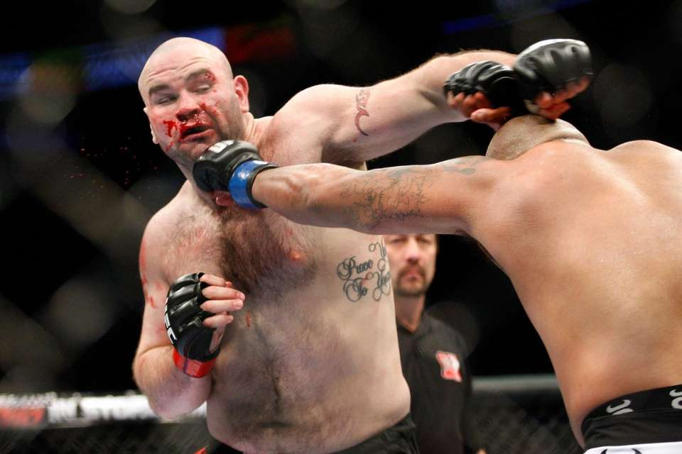 Former UFC fighter Tim Hague died on Sunday,