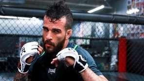 Sergio Da Silva trains atLong Island MMA in