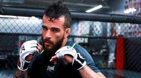 Sergio Da Silva trains at Long Island MMA in