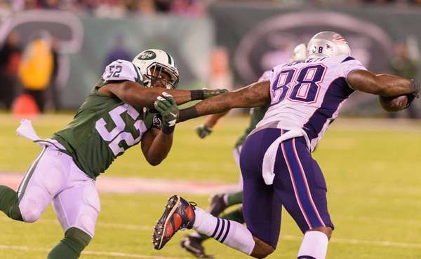 Former Jets linebacker David Harris reportedly agreed to