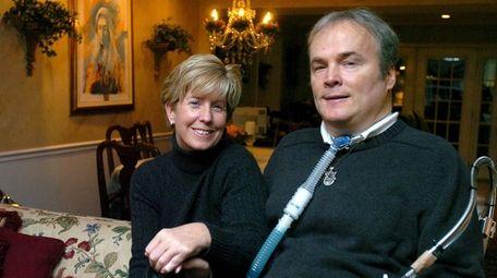 Patti McDonald, with husband, late police Det. Steven