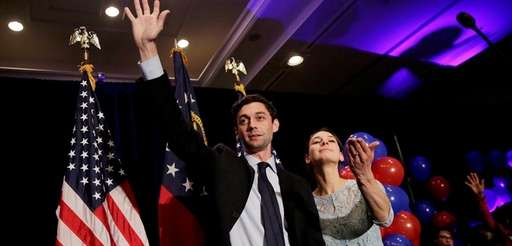 Democratic candidate for 6th congressional district Jon Ossoff,