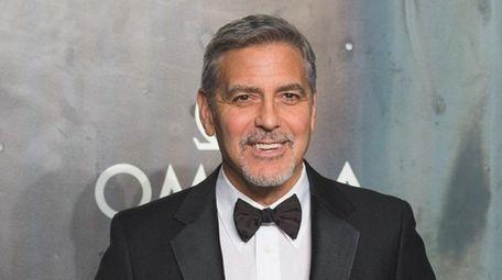 George Clooney in London April 26, 2017.