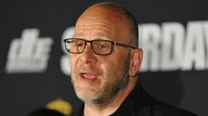Boxing promoter Lou DiBella speaks during a news