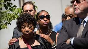 Gwen Carr, mother of Eric Garner, on Wednesday,