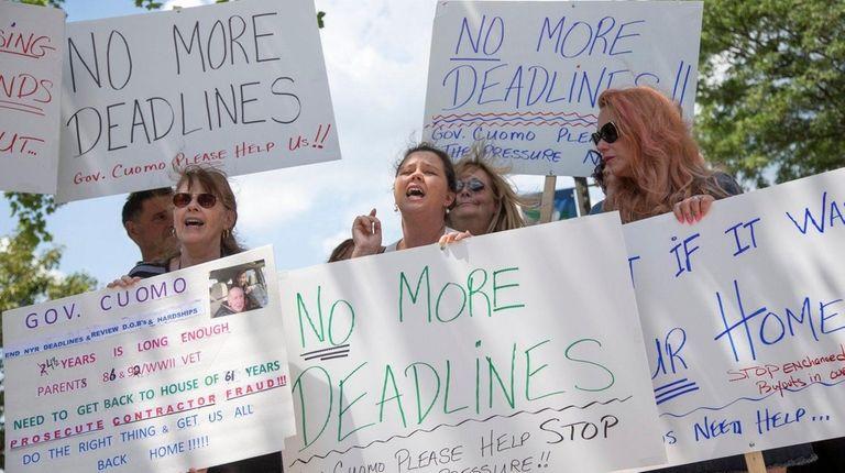 Residents seek to extend a June 30 deadline