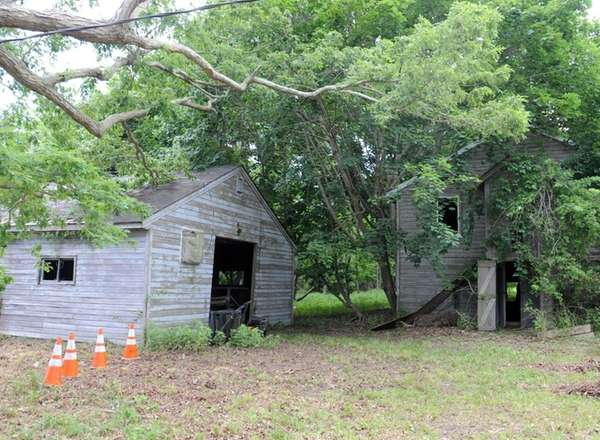 Demolition of old structures begins at the site