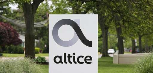The Altice logo is displayed outside Altice USA