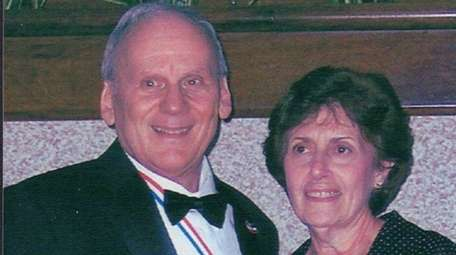 Tony and Marie DeLosa, of Dix Hills, marked