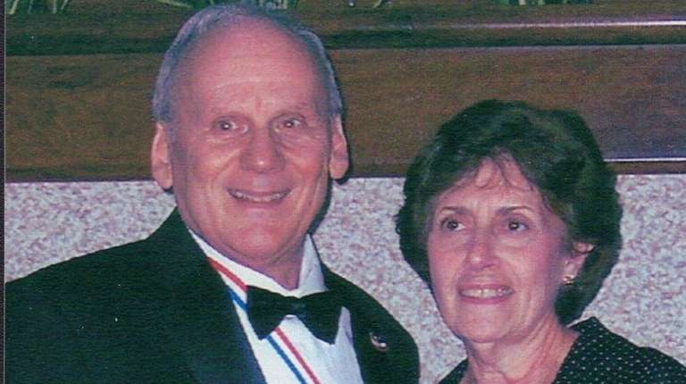 Tony and Marie DeLosa, of Dix Hills, marked