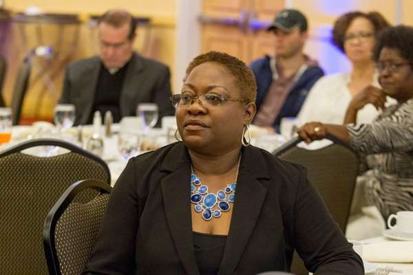 Theresa Sanders, president and chief executive of the