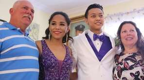 Newsday's Project Prom winner, Felicity Joy Masone, enjoyed