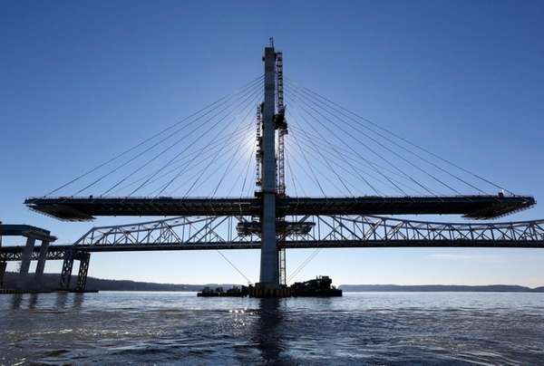 A span on the new Tappan Zee Bridge