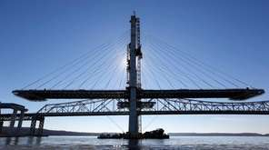 A span on the new Tappan Zee Bridge