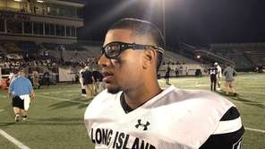 Long Island football players share their experiences playing