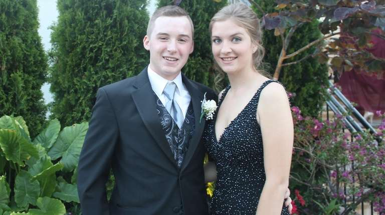 Gage Finn and Haley Higginson at the West