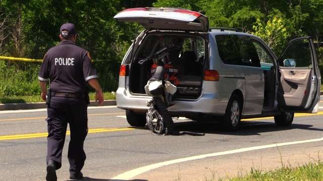 Driver arrested in fatal crash involving stolen dirt bike