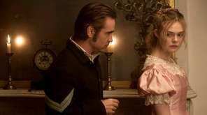 Colin Farrell and Elle Fanning in
