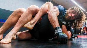Hugh McKenna trains at Long Island MMA in