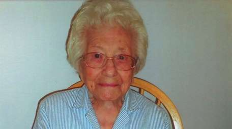 Josephine Rotolo at her 106th birthday on July