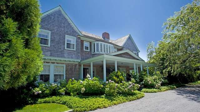 Grey Gardens in East Hampton was featured in